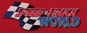 Presentation Speed & Truck World Logo Treatment.