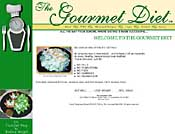Gourmet Diet Website