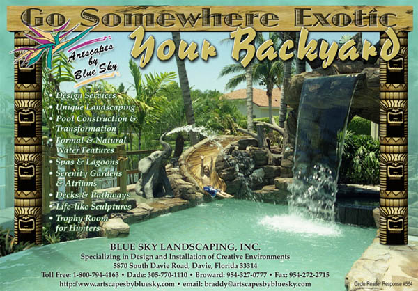 Go Somewhere Exotic - Your Backyard