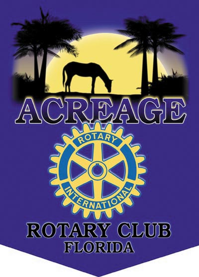 Acreage Rotary Club Banner