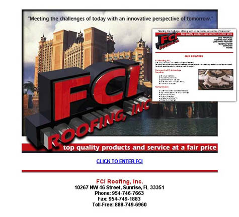 FCI Roofing