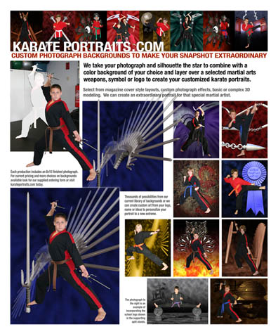 Karate Portraits Promotional