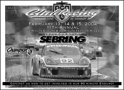 PCA 11th Annual Race Ad