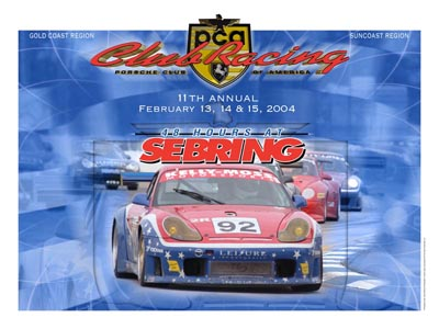PCA 11th Annual Race Poster